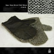 Mail Mittens - 8 mm Riveted Mild Steel -Dome-Riveted -Code 8