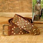 Medieval Leather Long Belt
