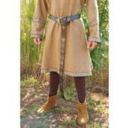 Medieval Leather Long Belt - Brown