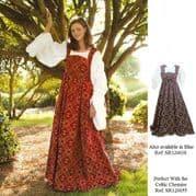 Medieval Renaissance Fleur de Lis Dress
