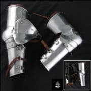 Milanese Arm Protectors 16G Steel