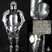 Milanese Armour 16 & 14 Gauge Steel Fully Articulated