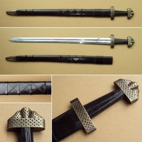 Norwegian Viking Sword & Scabbard