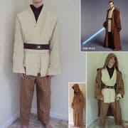 Obi-Wan Kenobi Costume Set - Size Large Only