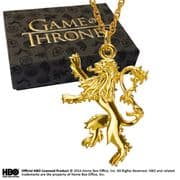 Official Lannister Pendant - Game Of Thrones