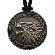 Official Stark Shield Pendant - Game Of Thrones