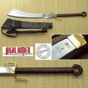 Officially Licenced Marto Highlander, Sable Dadao and Sheath