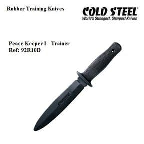 Cold Steel Peace Keeper I Rubber Training Knife