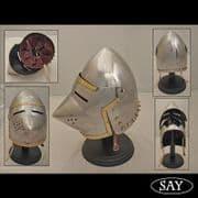 Pigfaced Helmet - Houndskull -16 Gauge