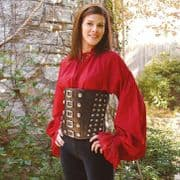 Pirate Ladies Leather Corset