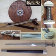 Re-Enactment Viking Broadsword & Scabbard