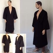 Robe - Black or Brown.