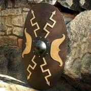 Roman Wooden Oval Shield
