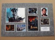 Sala Baker Signed Lord Of The Rings Autograph Phto Display Set