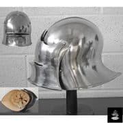 Sallet – Combat Helmet  - 14 Gauge
