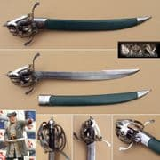 Scottish Pirate Cutlass & Scabbard