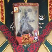 SIGNED SAURON ACTION FIGURE WITH LIGHTS & SOUND