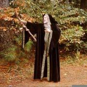 Sorcerer / Wizards Hooded Cloak