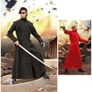 Steampunk / Anime Duster Extra Long Coat