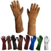 Suede Gloves/Gauntlets