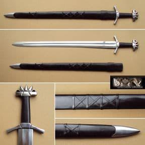 Swedish Viking Sword & Scabbard