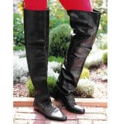 Tall Leather Renaissance Boots