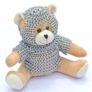 Teddy Knight With Chainmail Suit