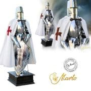 Templar Knight Suit of Armour by Marto of Toledo Spain (Templar Scottish Cross)