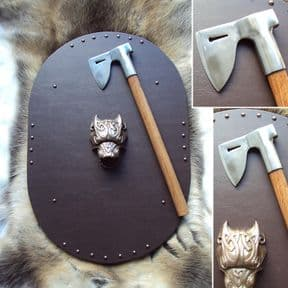 The Archer Axe - Fully Functional Tempered Steel