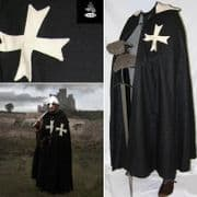 The Hospitaller Hooded Cloak