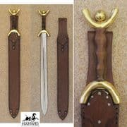 The New Celtic Sword & Leather Sheath
