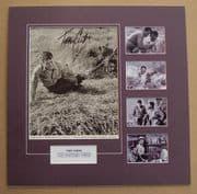 Tony Curtis Mounted 1959 Movie Still Signed Photo Set
