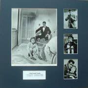 Tony Curtis Signed & Mounted 1962 Movie Still Photo Set
