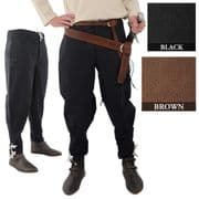 Trousers With Ankle Lacing - 2 Colours
