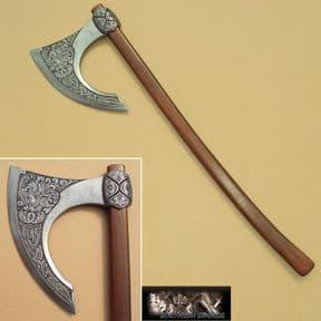 Viking / Celtic Bearded Battle Axe - 8th Century Scandinavian