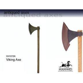 Viking Long Axe - Antique Finish
