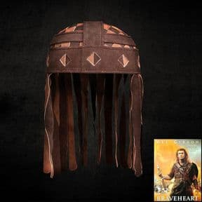 William Wallace Leather Helmet - Braveheart Movie Replica