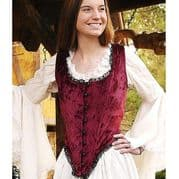 Wine Red Bodice
