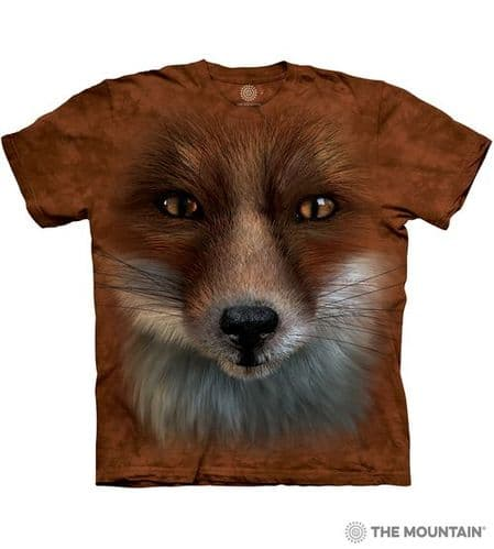 Big Face Fox T-shirt | The Mountain®