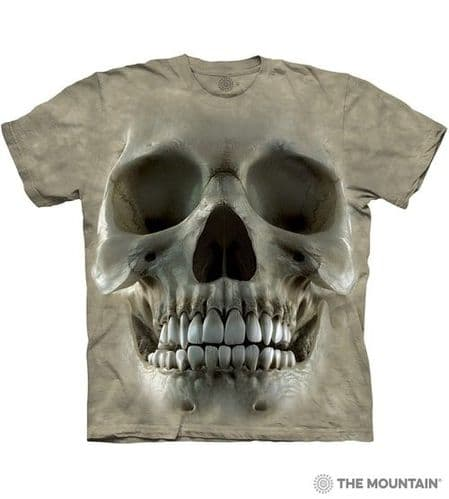 Big Face Skull T-shirt | The Mountain®