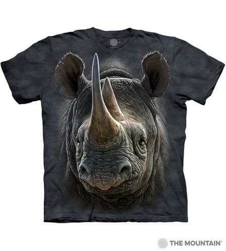 Black Rhino T-shirt | The Mountain®