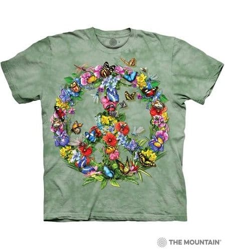 Butterfly Dragon Peace T-shirt   The Mountain®