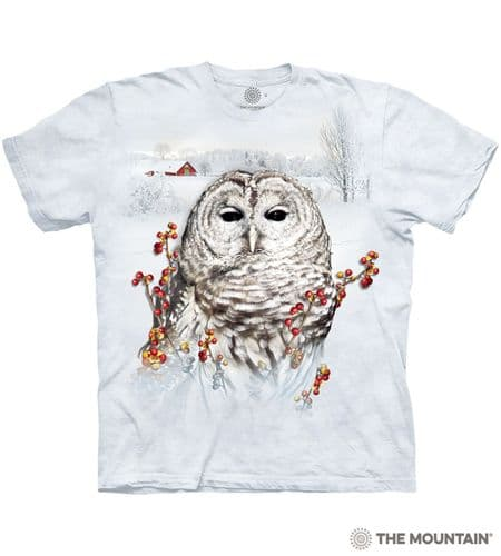 Country Owl T-shirt | The Mountain®