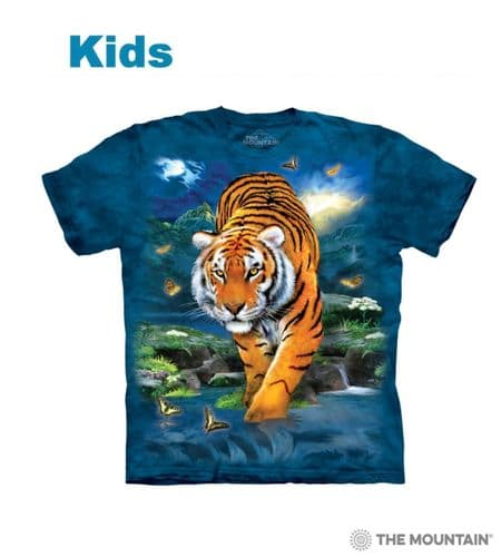 Children's 3D tiger T-shirt | Kids Tiger T-shirts | The Mountain®