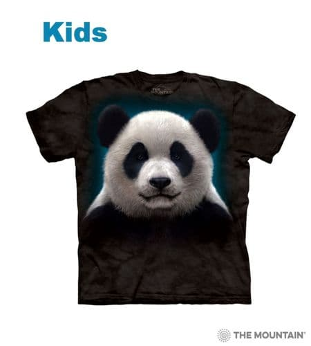 Kids Panda Head T-shirt | The Mountain®