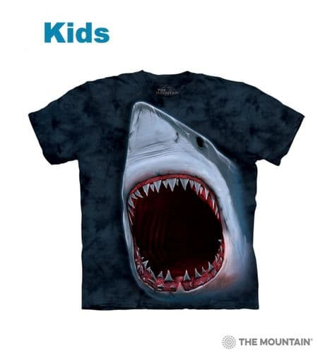 Kids Shark Bite T-shirt | The Mountain®