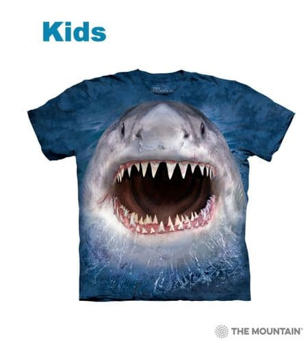 Kids Wicked Nasty Shark T-shirt | The Mountain®