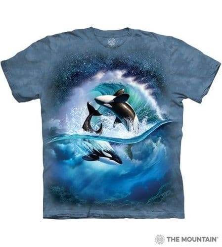 Orca Wave T-shirt | The Mountain®