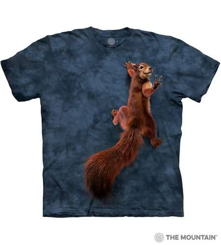 Peace Squirrel T-shirt | The Mountain®