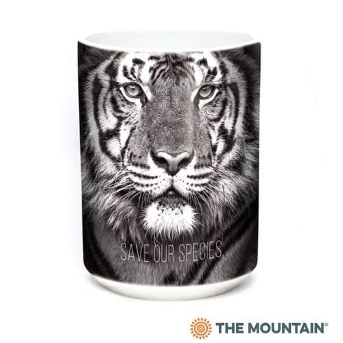 Save Our Species Tiger Ceramic Mug | The Mountain®